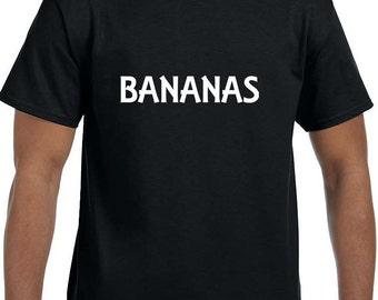 Bananas Funny T-Shirt model xx10013