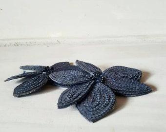 Blue Shoe Clips