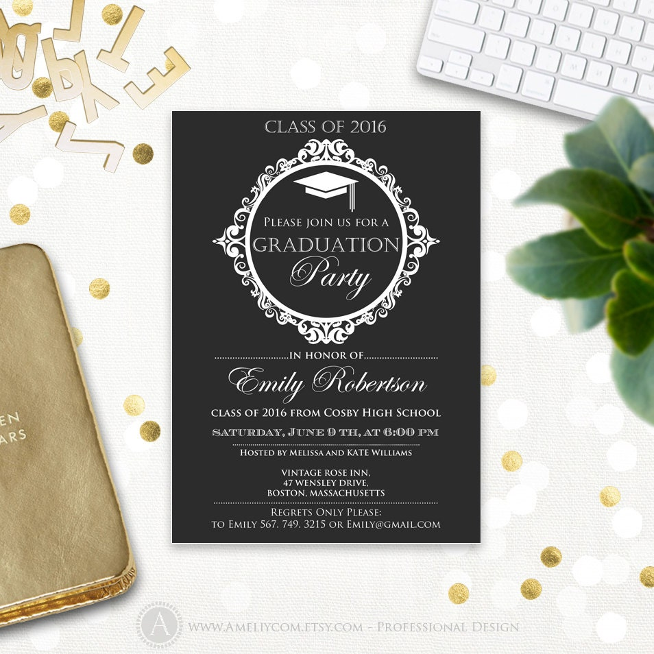 It's just an image of Agile College Graduation Announcements Templates