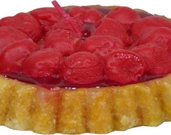 Candle Fruit Tart Cherry