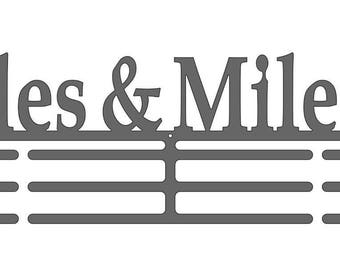 Miles & Miles Male Runner Medal Display Hanger with Three Bars for Ribbons by Lizatards ONLY ONE LEFT