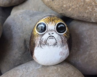 Image result for porg painting on rock