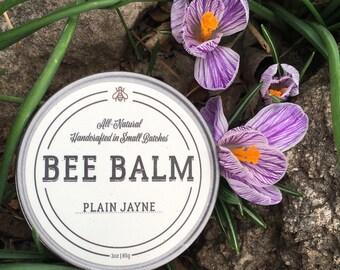 Bee Balm, jar, handmade, beeswax, salve