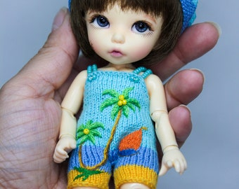 "Ready Swimmsuit set ""The Beach"" for Pukifee/ Lati Yellow (1/8)"