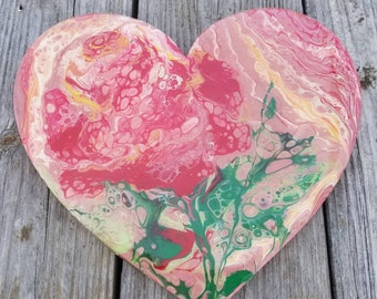My Love original painting acrylic pour