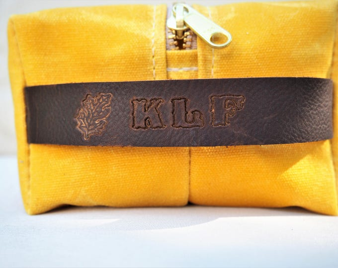Personalize Your Bag / Embossing / Initials