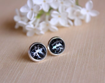 Electric Shiver Earrings ~ Jewelry ~ Earrings ~ Stud Earrings ~ Hoop Earrings ~ Lightning Earrings ~ Lux in Tenebris ~ Made To Order
