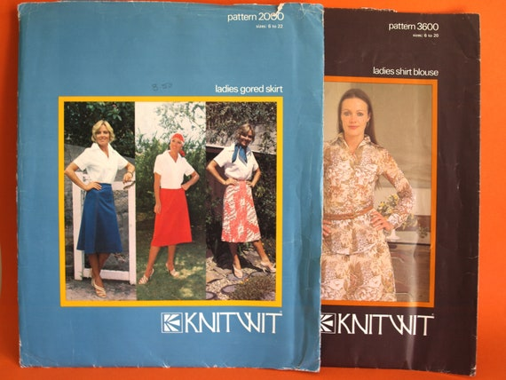 Knitwit Sewing Patterns Bulk Lot of Vintage Clothing Retro