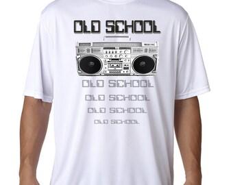 Old School Graphic T-Shirt - Boom Box