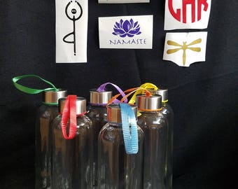 Personalized Glass Water Bottles
