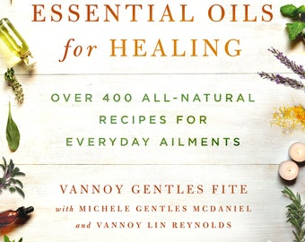 Signed copy of Essential Oils for Healing, (with a free jeweled bookmark)