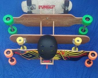Skateboard Hanging Wall Rack