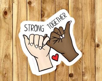 Feminist Sticker | Feminism Sticker | Nasty woman | Diversity | Intersectional Feminism | Vinyl Sticker | Cool Stickers | Tumblr