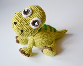 Crochet PATTERN - Dinosaur Apatosaurus pattern by Krawka