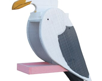 Amish Made Seagull Bird Feeder - Free Shipping
