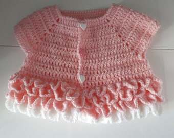 life jacket baby pink, handmade, (can create it in other sizes and/or colours)