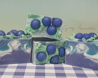 Blueberry Picnic - Cold Process Soap