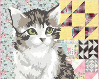Meow or Never Quilt Kit by Erin Michael for Moda