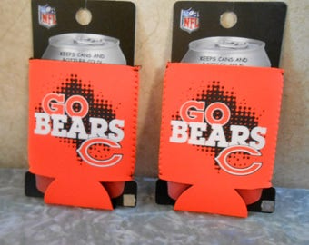 2 -New/Old Stock Unused Chicago Bears Soda Coolers