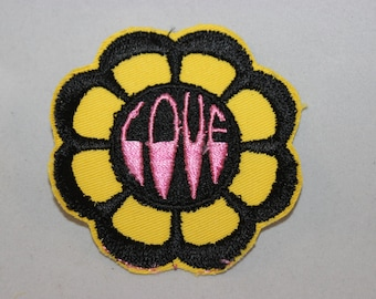 Flower Power Hippie Love Patch