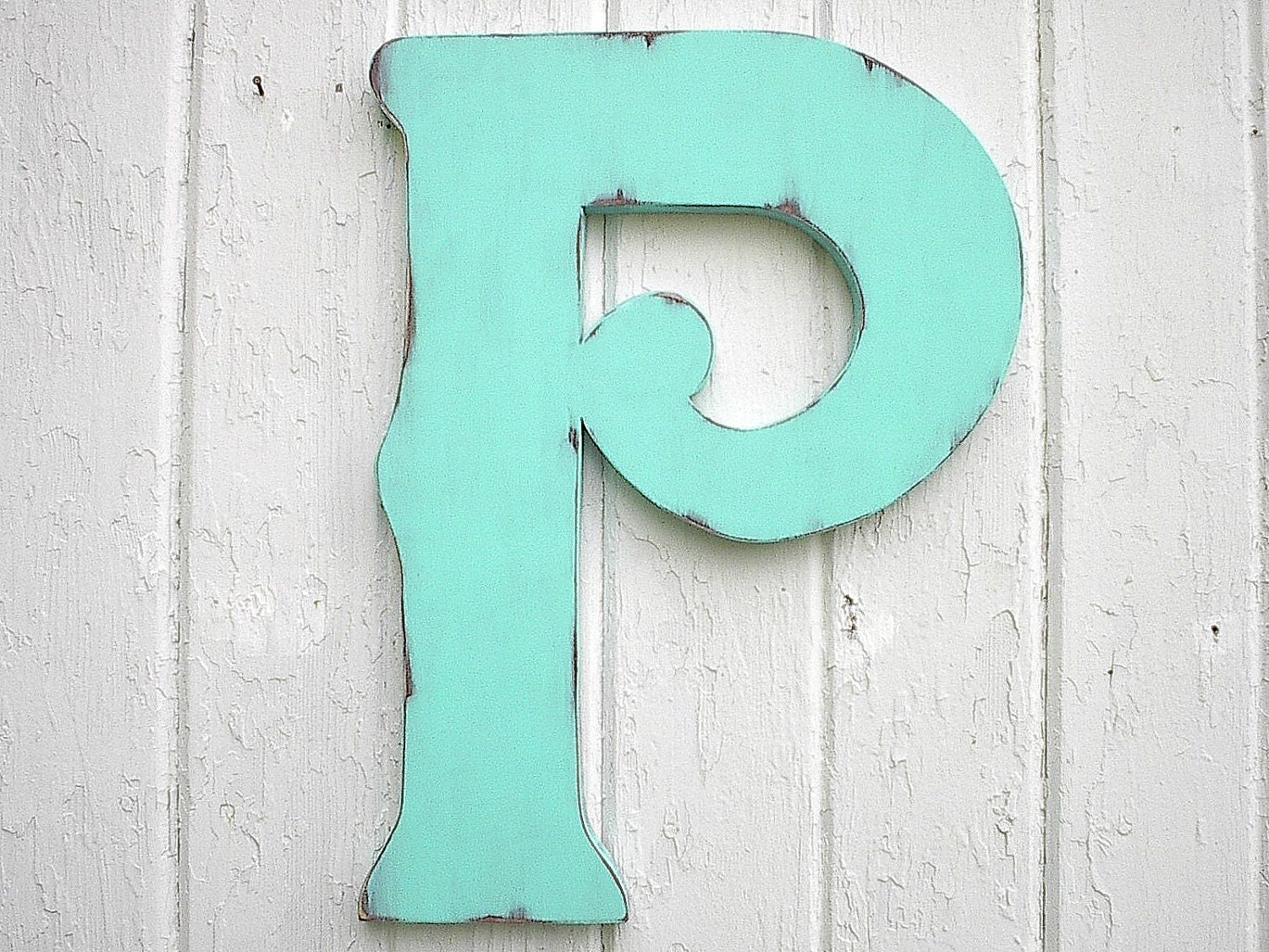 Letter P Wall Decor Wooden Letters Decorative P 18 Wall Decor Distressed