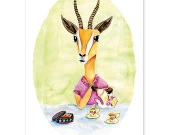 Animal Friends • Gazelle donates tea