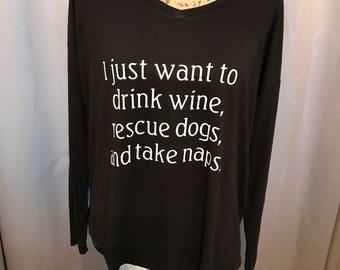 Wine, Dogs, Naps