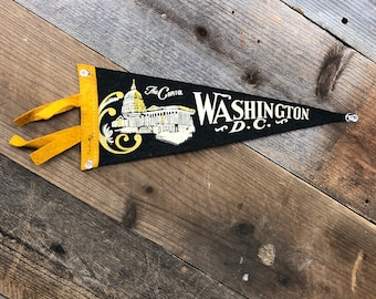 Washington, D.C. Felt Pennant