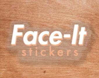 Face-It Logo Sticker