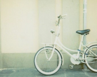 Fine Art Photography, Italy Photography, Bike Photography, Polaroid Film Photography