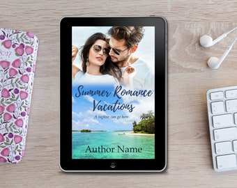 Premade eBook Cover -  Summer Romance Vacations