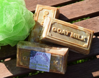 Goats Milk Soap with Chamomile