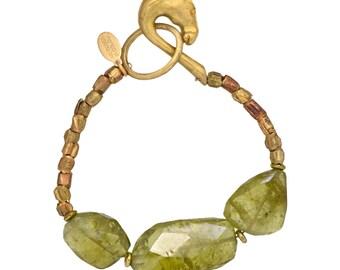 Grossular Garnet Bracelet