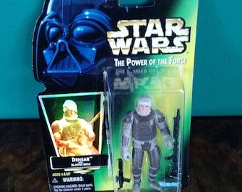 Star Wars Power of the Force Dengar 1990's Kenner