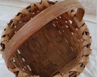 Vintage Handmade Basket