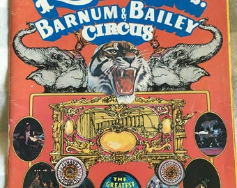 Ringling Brothers and Barnum and Bailey Circus souvenir program