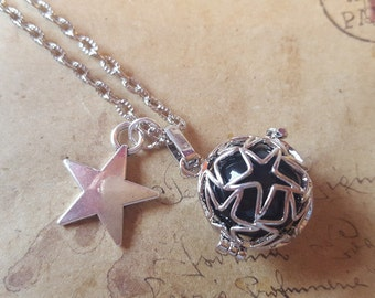 Angel Rufer chain with Star ~ Silver ~