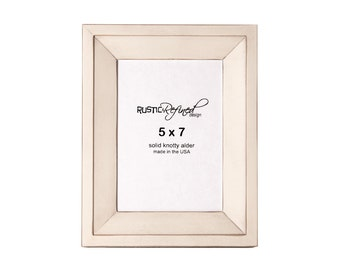5x7 Haven picture frame - Off White, Free Shipping