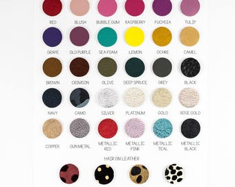 Leather Colors || DO NOT PURCHASE