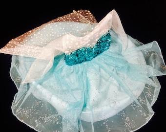 Elsa Costume, Frozen Inspired Costume, Elsa Dress, Princess Dress, Frozen Dress, Elsa Tutu Dress, Disney Princess Costume