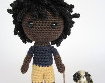 Amigurumi Boy Doll Pattern : Amigurumi boy doll etsy