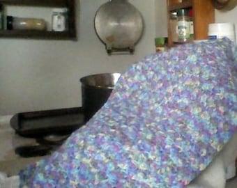 Crochet Preemie baby blanket, baby blanket, crib blanket, stroller blanket