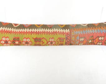 Kilim pillow cover  , 41 X 8.6 inc for  WINDOWS  or  DOORS