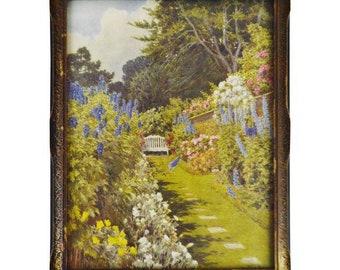 Vintage Framed Beatrice Parsons Print