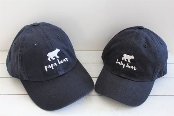 PAPA BEAR | Embroidered Baseball Cap