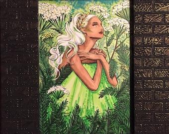 Yarrow Bride Original Artwork