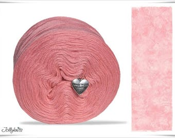 Solid Yarn Merino Flesh Red 500m
