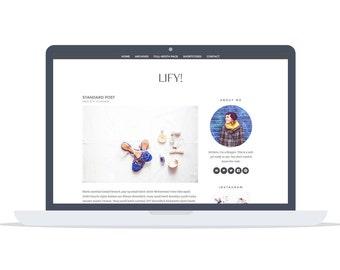 Lify - Wordpress Theme - Premade - Self Hosted - Lifystyle and Fashion Wordpress Theme - Responsive