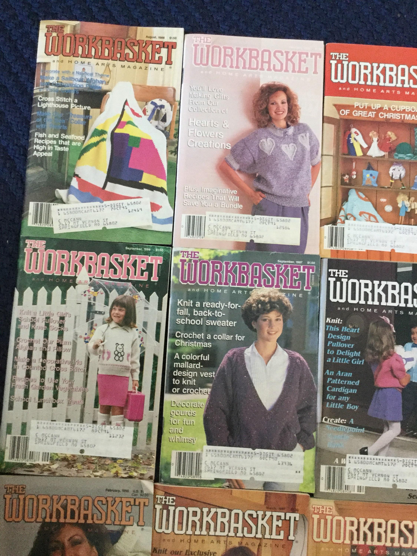 The Workbasket Magazine from Frankorasfinds on Etsy Studio