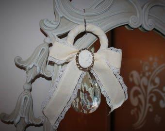 Deco shabby chic Crystal pendant